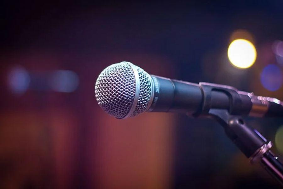 mikrofon marki SHURE-sm58