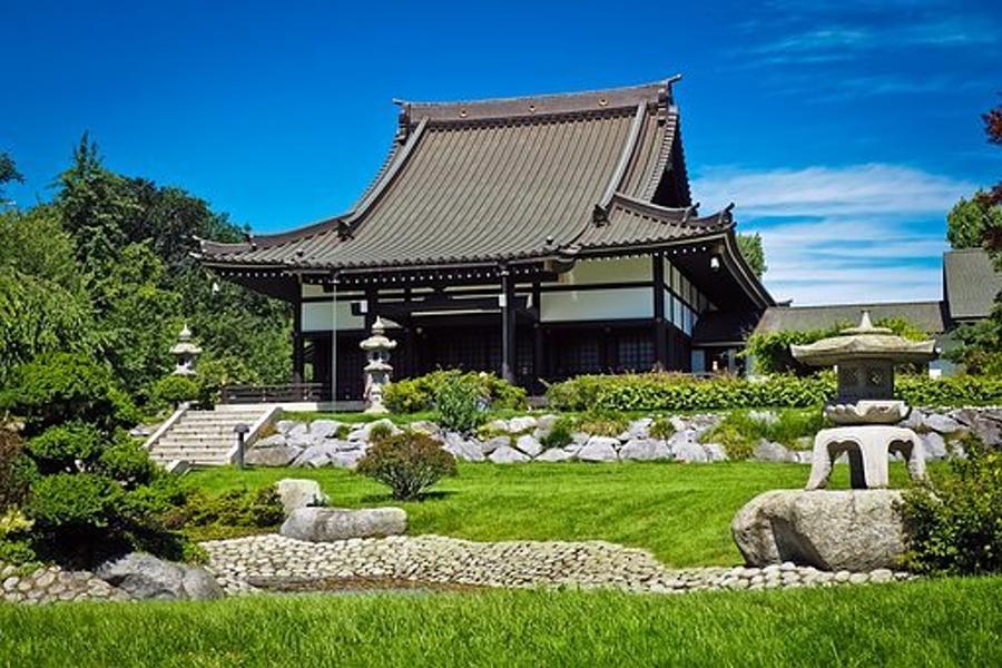 japońska świątynia