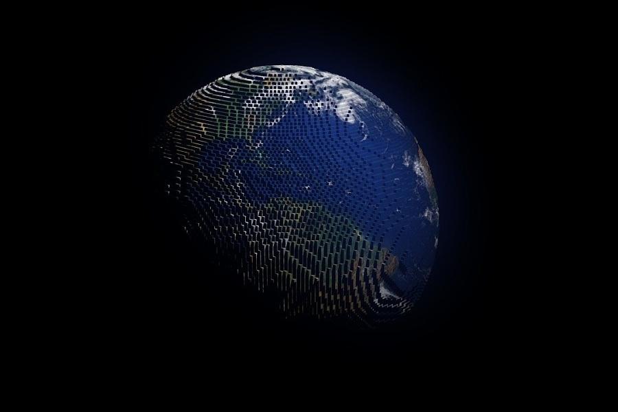 model planety