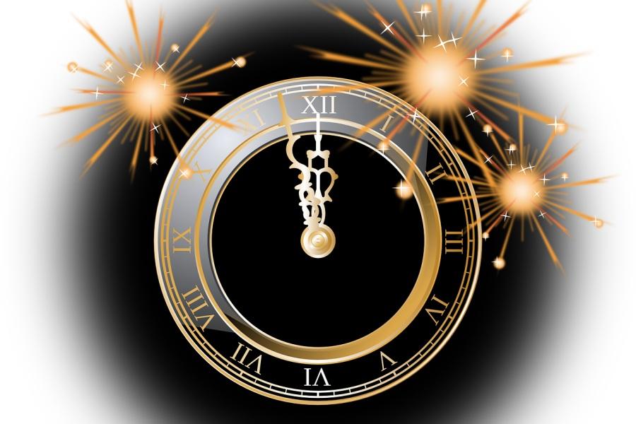 grafika z tarczą zegara
