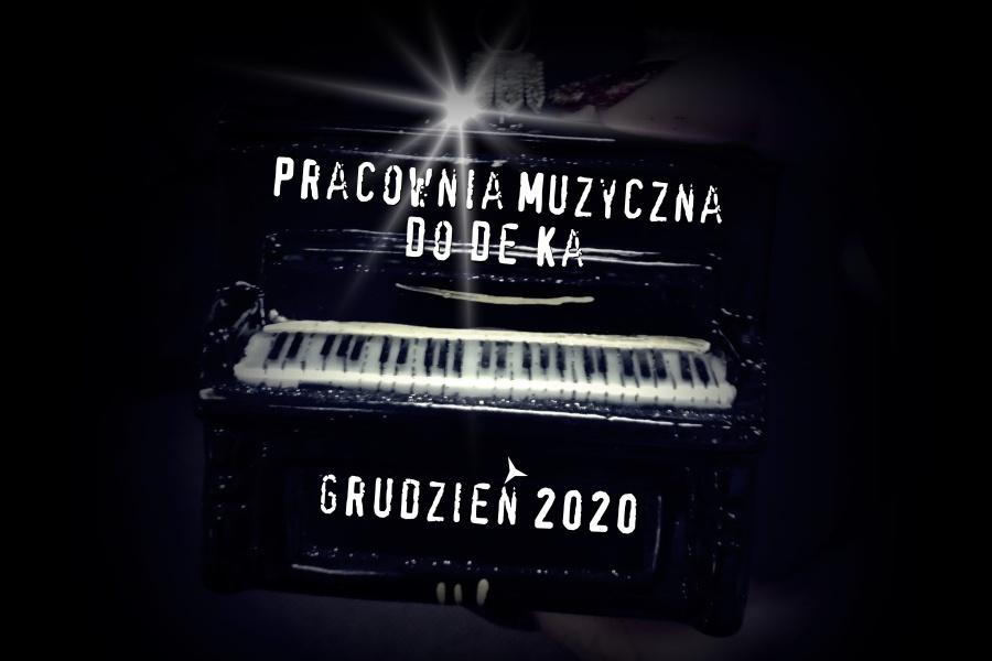 bobmka w kształcie akordeonu z napisem Pracownia Muzyczna DOdoka grudzien 2020