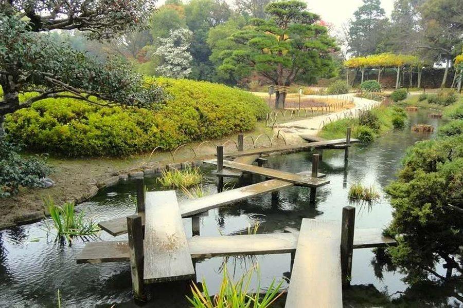 na zdjęciu park Okayama