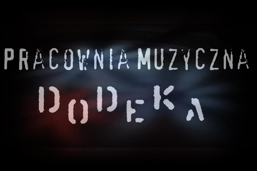 grafika z napisem Pracownia muzyczna DOdeka